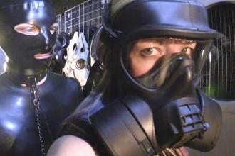 Bdsm fiberglass mask yet did