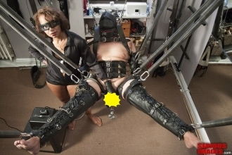 Can not bondage leather mistress slave